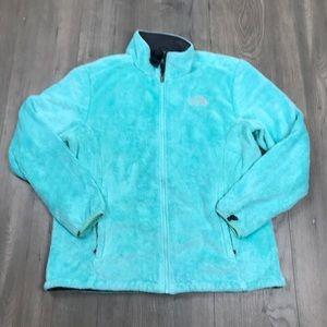 North Face Osito Aqua Fleece Jacket